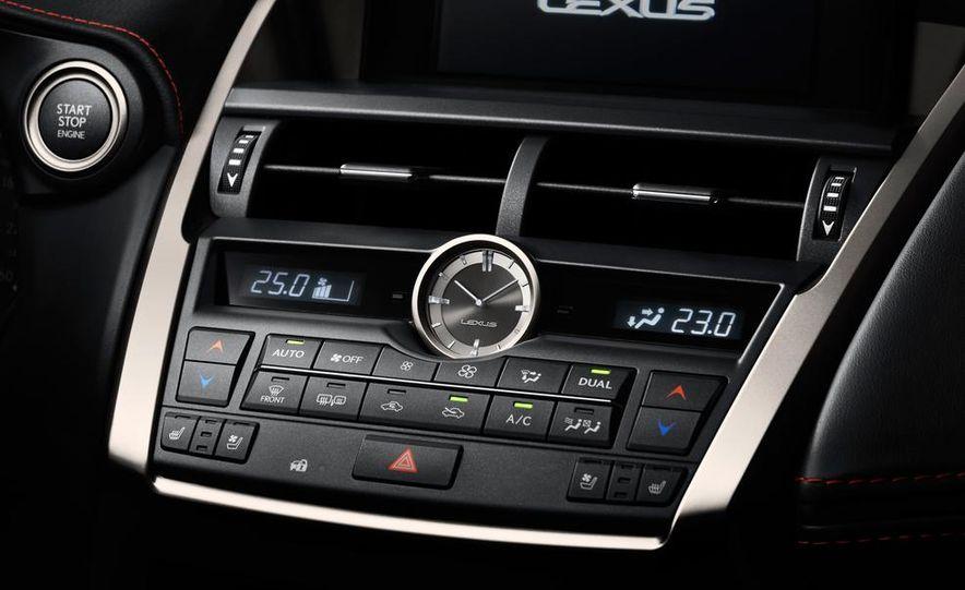2015 Lexus NX200t F Sport - Slide 19