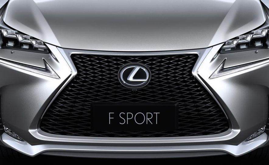 2015 Lexus NX200t F Sport - Slide 10