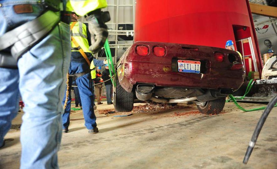 "2009 Chevrolet Corvette ZR-1 ""Blue Devil"" Prototype, 1993 40th Anniversary coupe, 1962 Corvette, and 1992 One Millionth Corvette - Slide 68"
