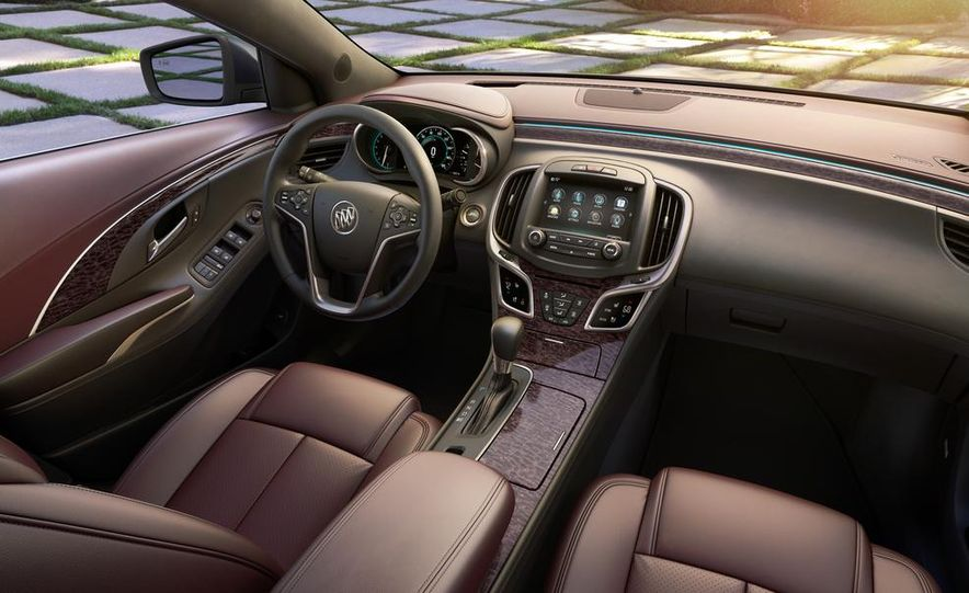 2014 Buick LaCrosse with the Ultra Luxury Interior Package - Slide 1