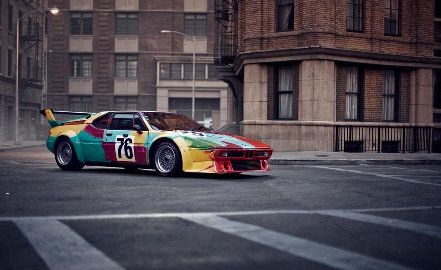 1979 BMW M1 Gruppe 4 Rennversion Art Car by Andy Warhol - Slide 1