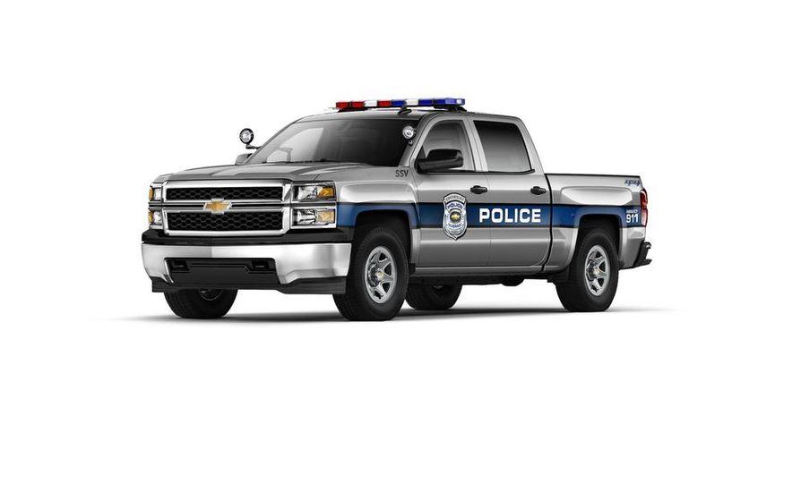2015 Chevrolet Silverado 1500 Crew Cab Special Service Vehicle - Slide 1