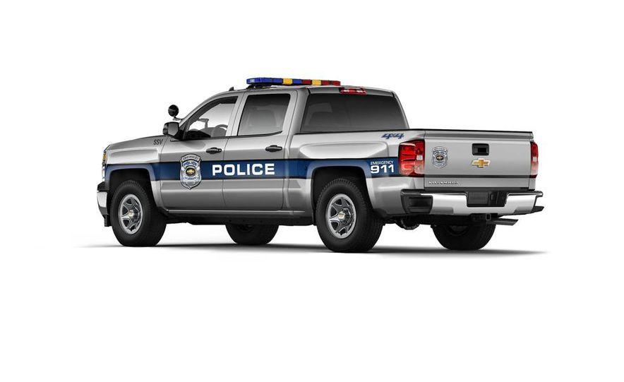 2015 Chevrolet Silverado 1500 Crew Cab Special Service Vehicle - Slide 2