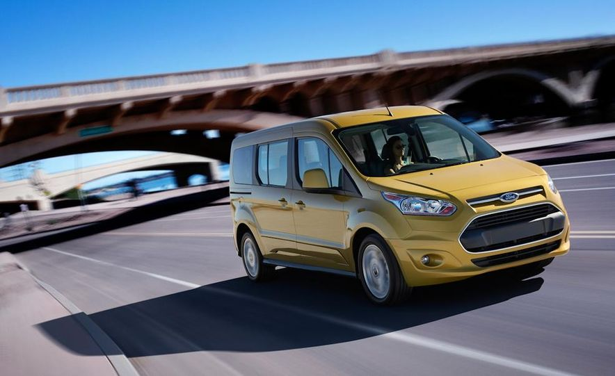 2014 Ford Transit Connect wagon - Slide 1