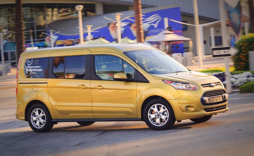 2014 Ford Transit Connect wagon - Slide 4