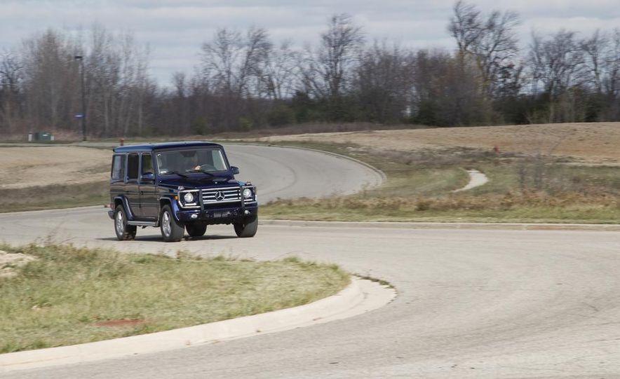 2013 Mercedes-Benz G550 - Slide 1