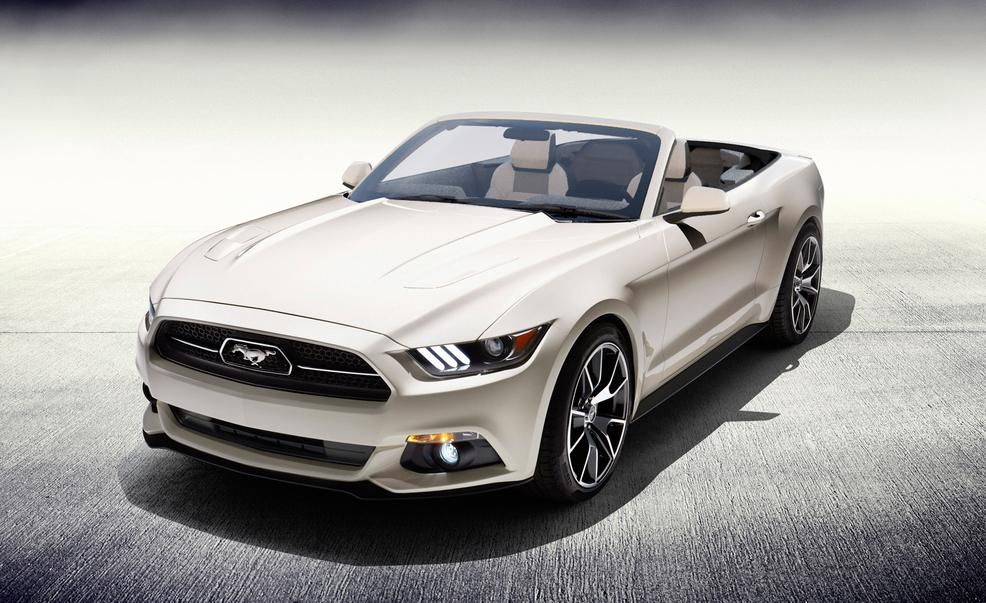 2015 Ford Mustang 50th Anniversary Edition convertible  Photo