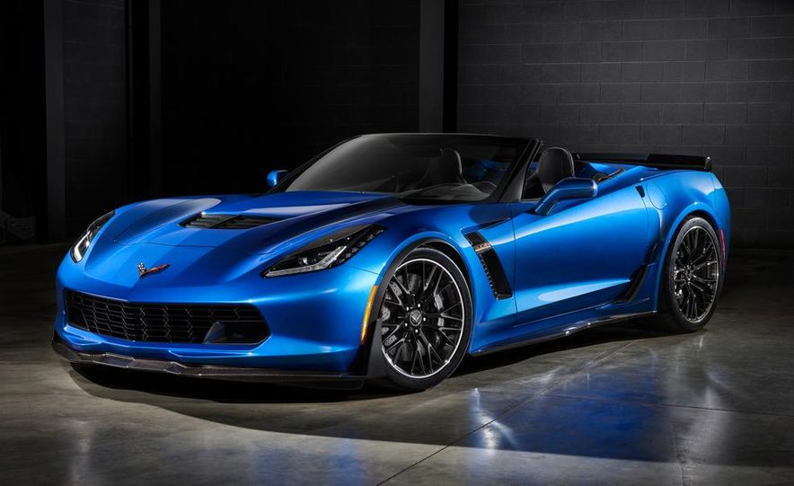 2015 Chevrolet Corvette Z06 convertible - Slide 1