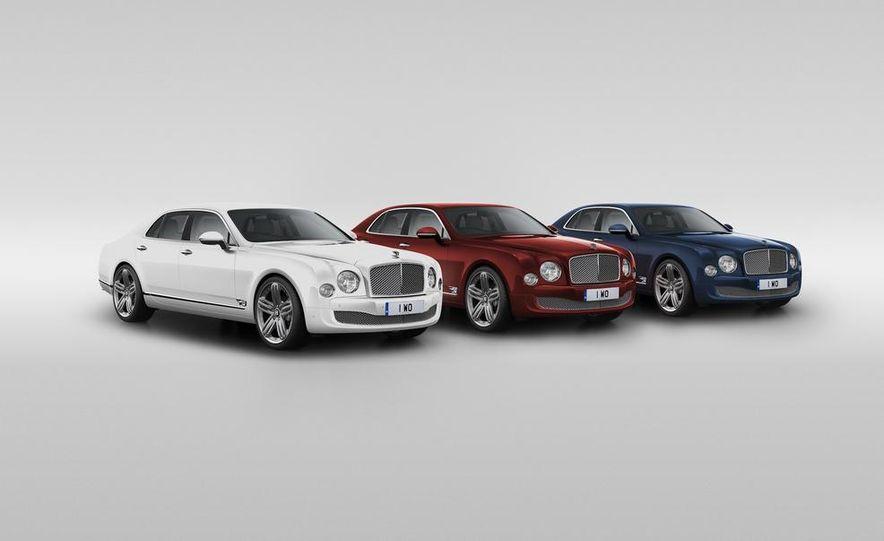 Bentley Mulsanne 95 Special Editions - Slide 1