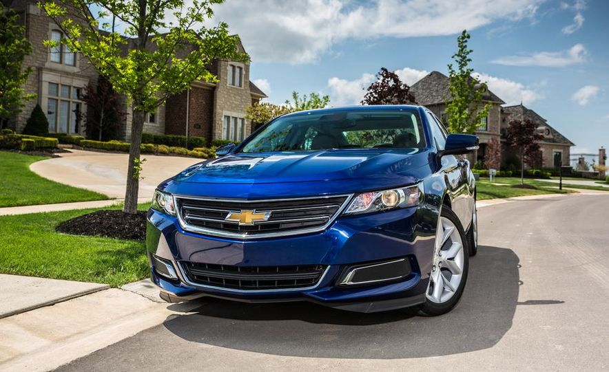 2014 Chevrolet Impala 2.5L iVLC - Slide 1