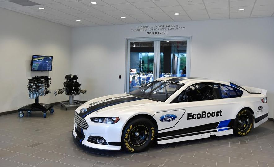 We Tour Ford's Motorsports Tech Center—and Check out the Awesome Machinery Within - Slide 3