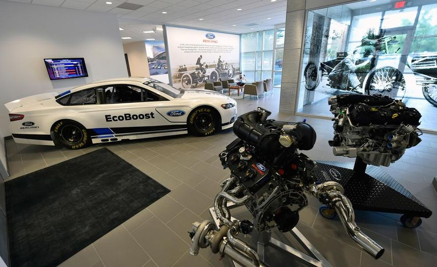 We Tour Ford's Motorsports Tech Center—and Check out the Awesome Machinery Within - Slide 4