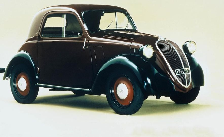 1936–1948 Fiat Topolino 500 - Slide 1