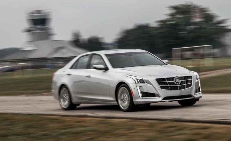 2014 Cadillac CTS 2.0T - Slide 2