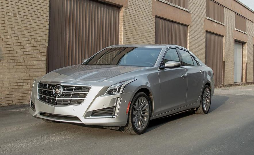 2014 Cadillac CTS 2.0T - Slide 4