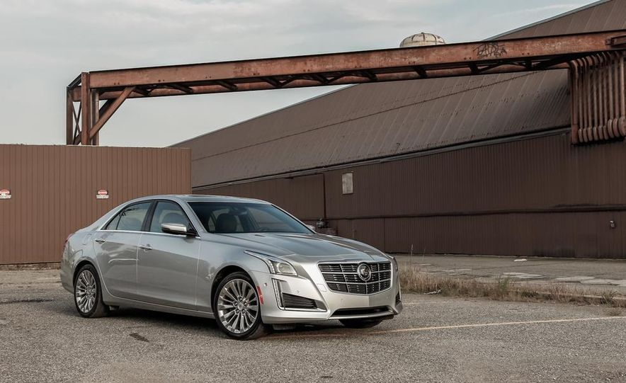2014 Cadillac CTS 2.0T - Slide 5