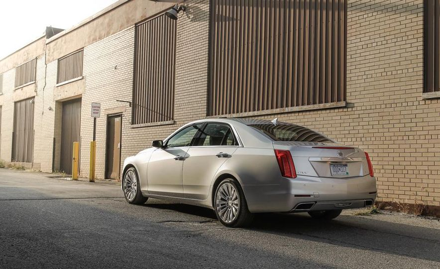 2014 Cadillac CTS 2.0T - Slide 11