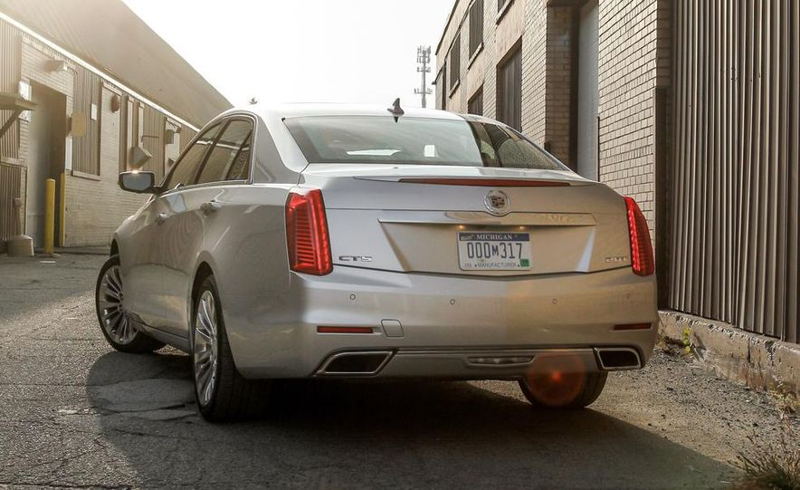 2014 Cadillac CTS 2.0T - Slide 12
