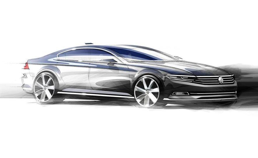 Volkswagen Passat B8 (artist's rendering) - Slide 2