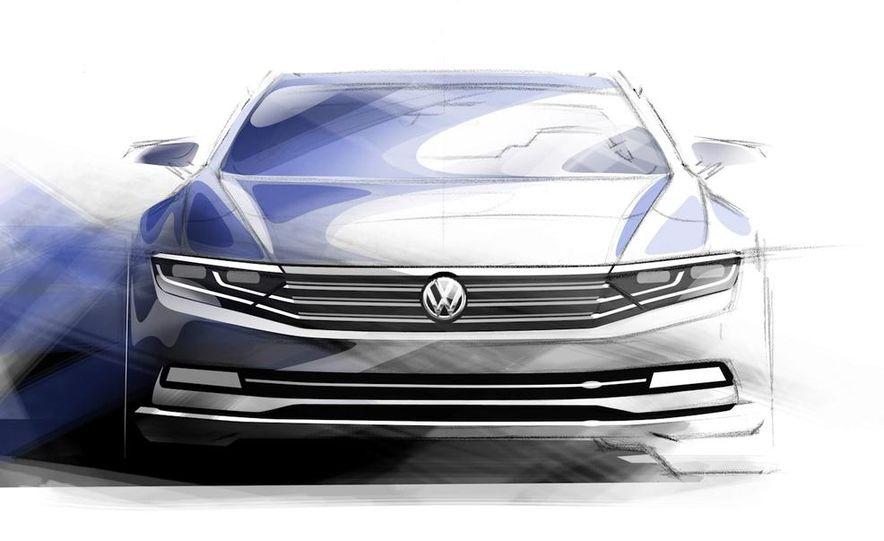 Volkswagen Passat B8 (artist's rendering) - Slide 1