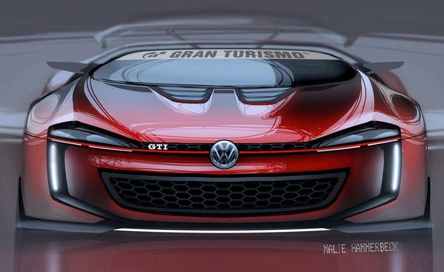 Volkswagen GTI Roadster Vision Gran Turismo concept (artist's rendering) - Slide 1