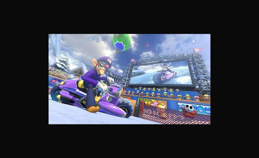 Mario Kart 8 - Slide 4