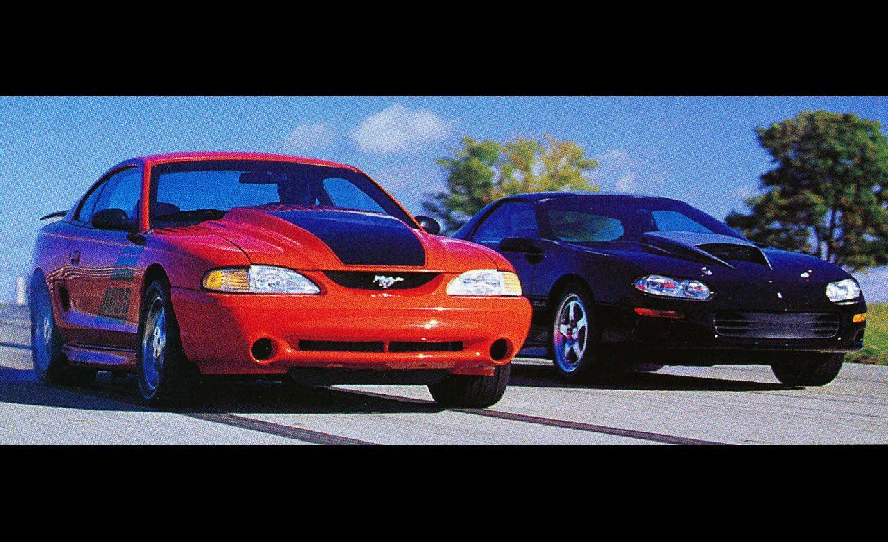 2000: Chevrolet ZL-1 Camaro vs. Ford Boss Mustang