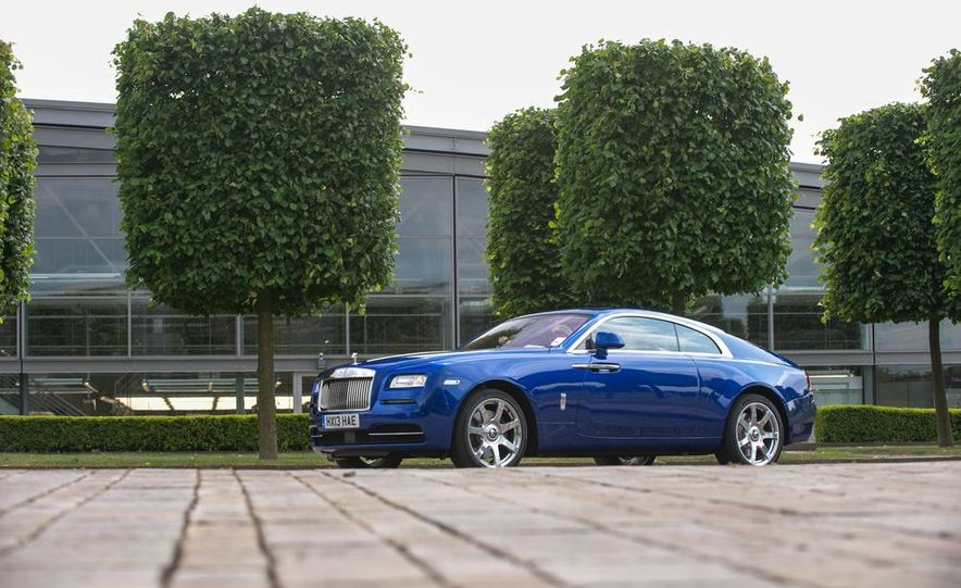 2014 Rolls-Royce Wraith - Slide 45
