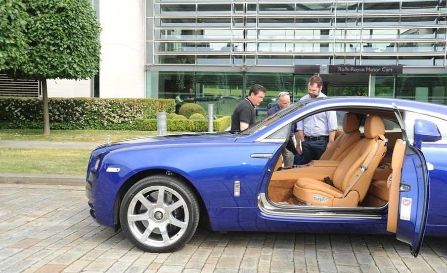 2014 Rolls-Royce Wraith - Slide 48