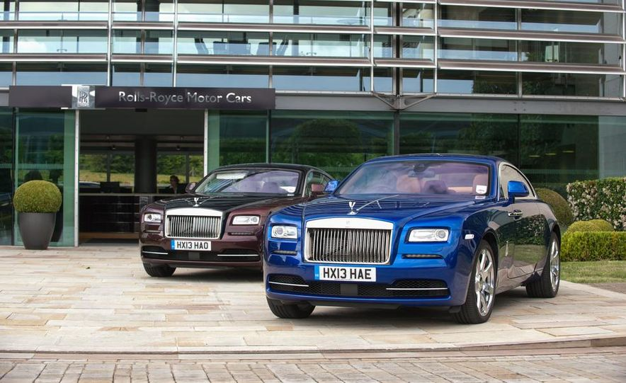 2014 Rolls-Royce Wraith - Slide 58
