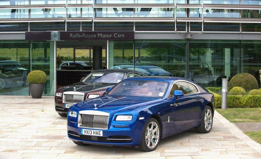 2014 Rolls-Royce Wraith - Slide 60