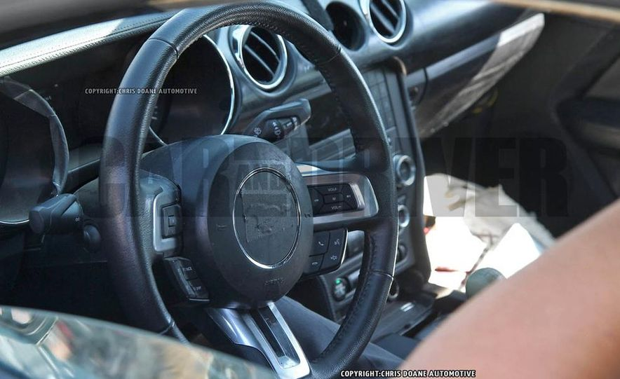 2016 ford mustang gt500 interior spy photo - Ford Mustang 2016 Gt500