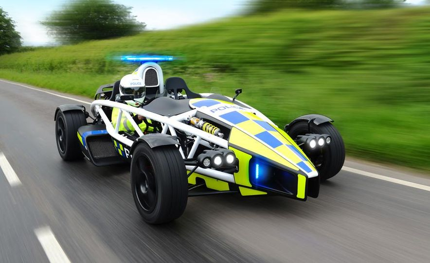 Ariel Atom police car - Slide 1