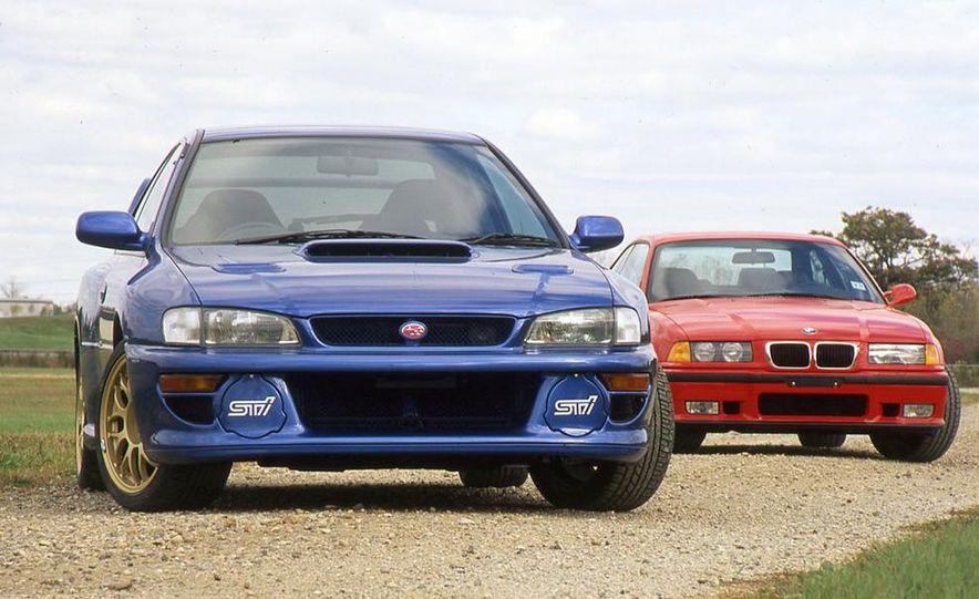 1998 Subaru Impreza 22B STi and BMW M3 Coupe - Slide 1