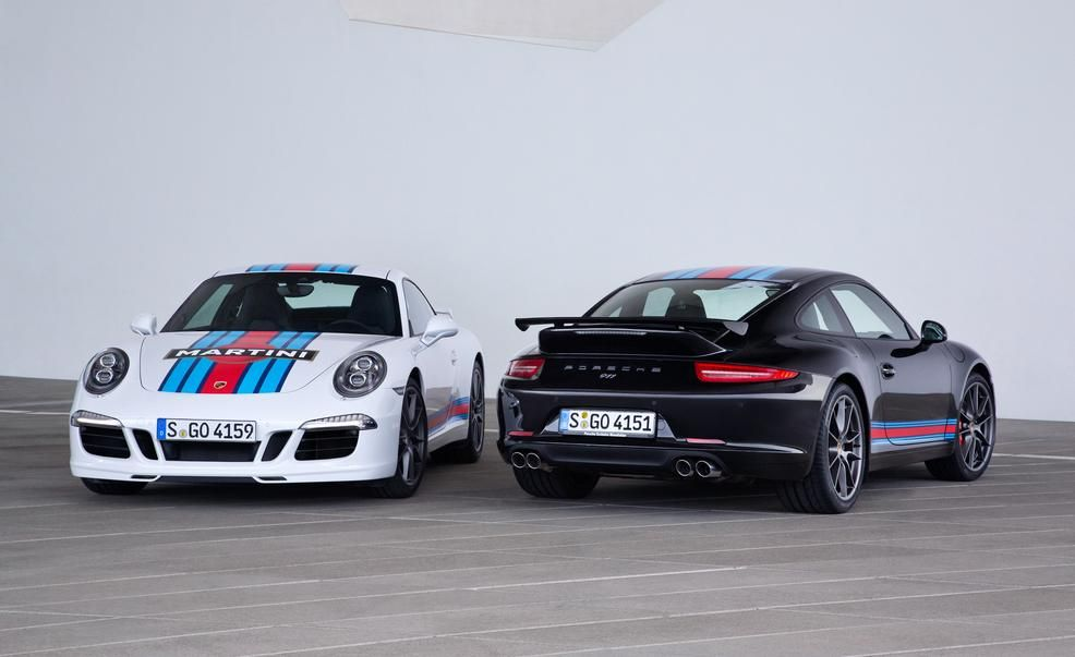 2015 porsche 911 carrera s martini racing editions pictures photo gallery car and driver