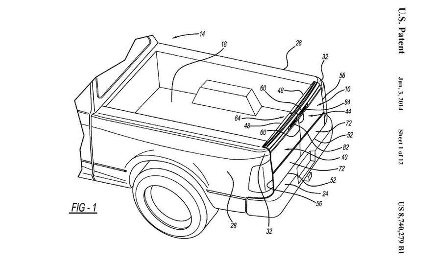 Ram tailgate patent - Slide 1
