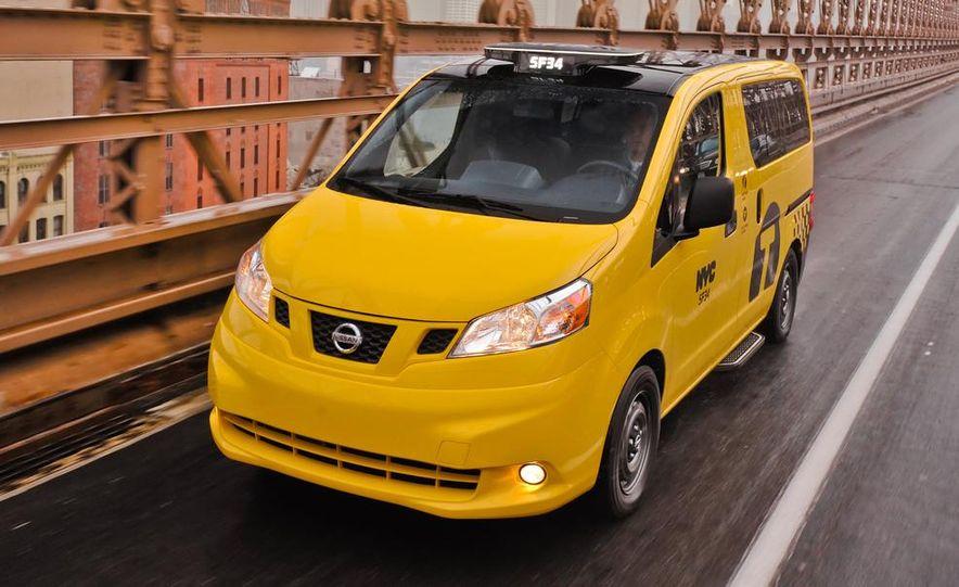 2014 Nissan NV200 Taxis - Slide 7