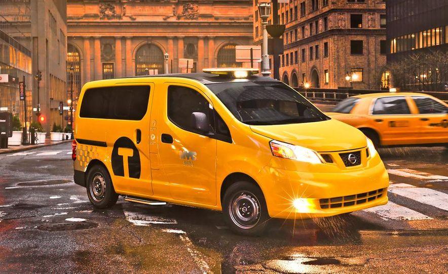2014 Nissan NV200 Taxis - Slide 8