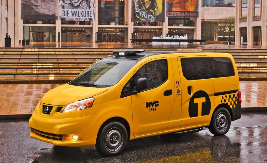 2014 Nissan NV200 Taxis - Slide 10