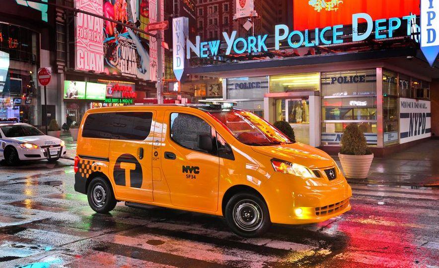 2014 Nissan NV200 Taxis - Slide 11