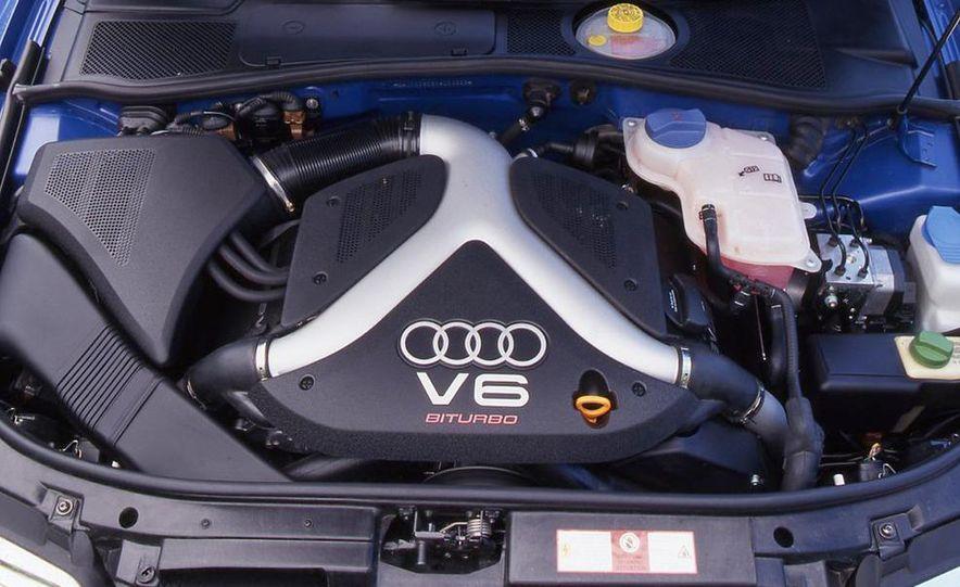 Audi S4 Quattro, Mercedes-Benz C43 AMG, Saab 9-3 Viggen, and BMW M3 - Slide 21