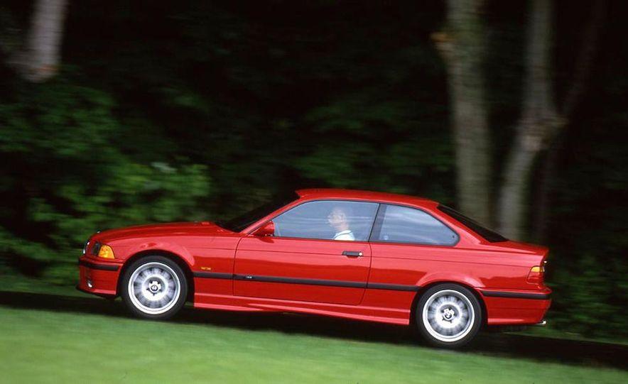 Audi S4 Quattro, Mercedes-Benz C43 AMG, Saab 9-3 Viggen, and BMW M3 - Slide 13