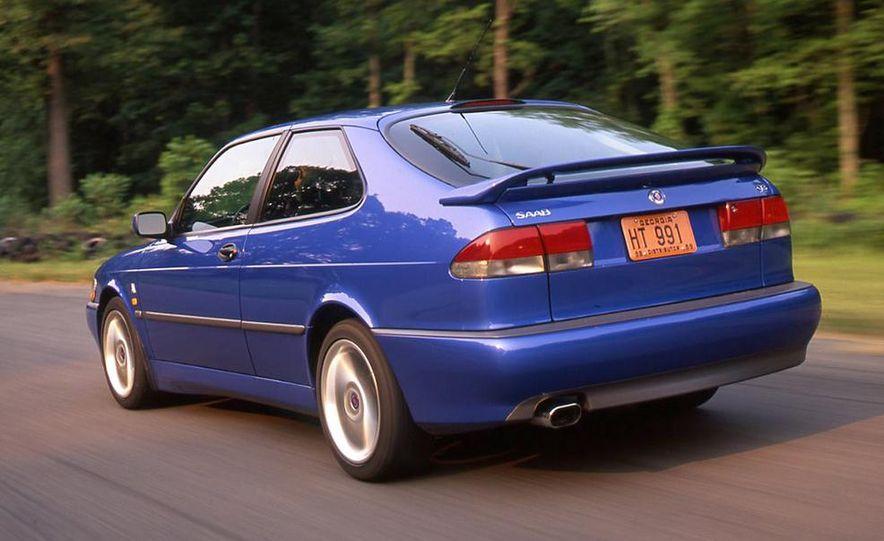 Audi S4 Quattro, Mercedes-Benz C43 AMG, Saab 9-3 Viggen, and BMW M3 - Slide 8