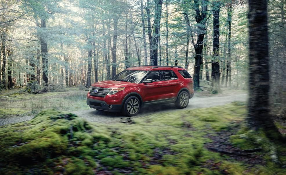 ford adds appearance package to 2015 explorer xlt other explorers get minor updates