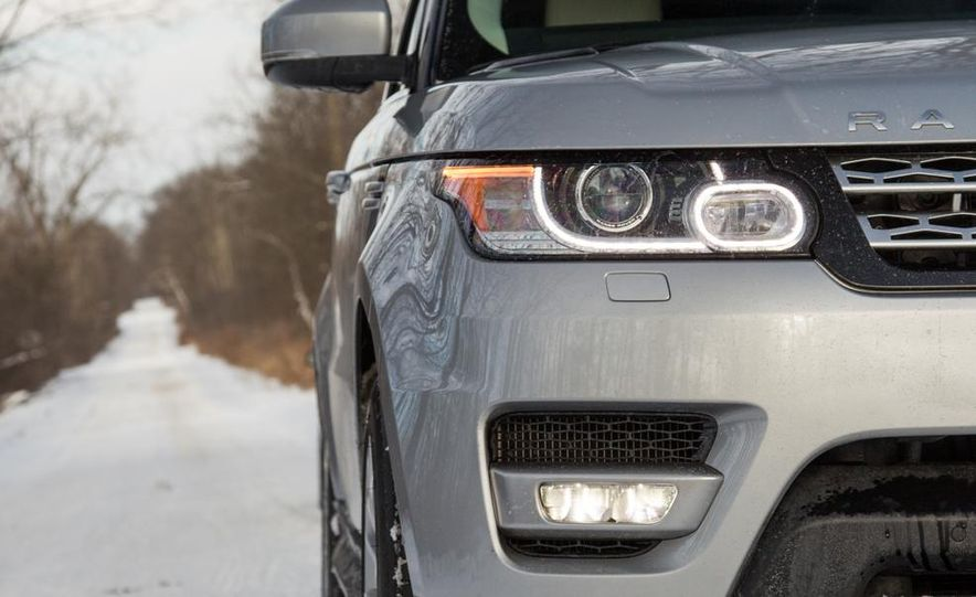 2015 Land Rover Range Rover Sport SVR (spy photo) - Slide 25