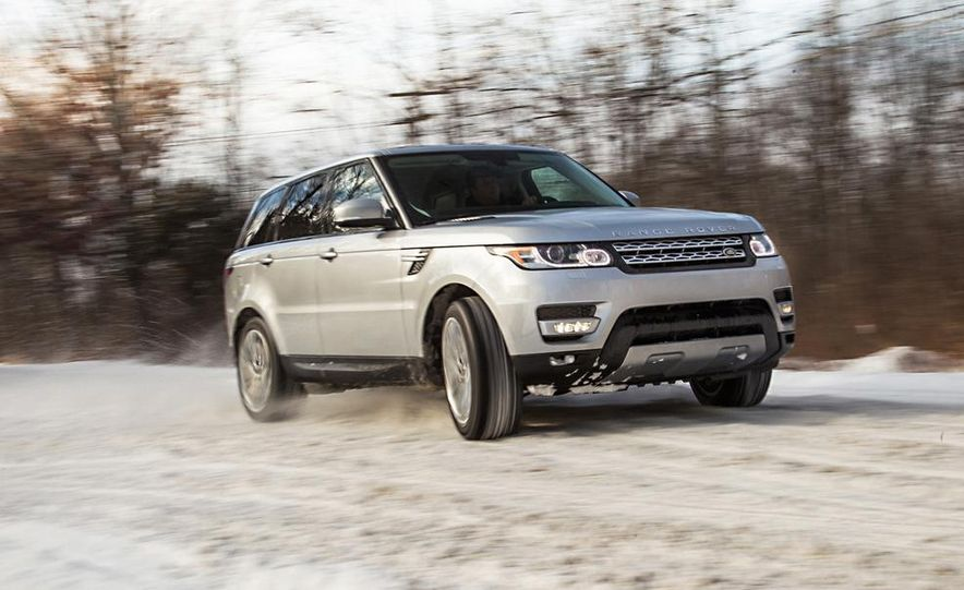 2015 Land Rover Range Rover Sport SVR (spy photo) - Slide 11