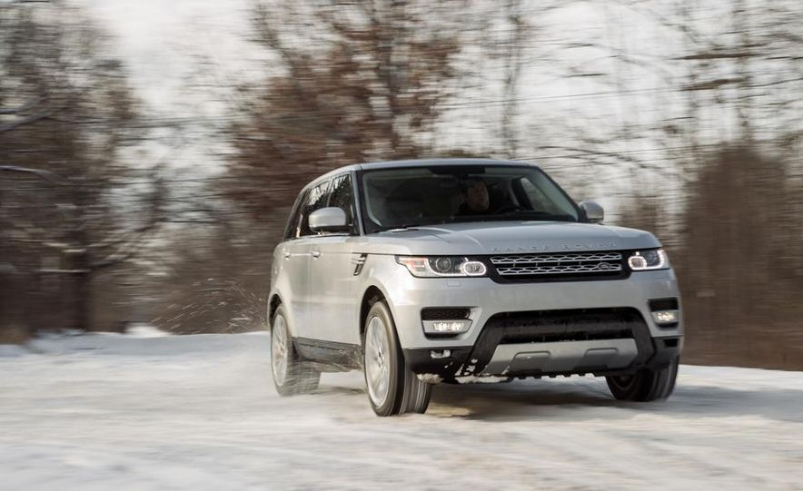 2015 Land Rover Range Rover Sport SVR (spy photo) - Slide 12