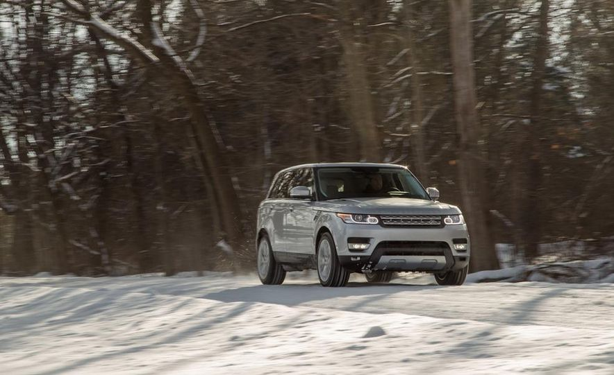 2015 Land Rover Range Rover Sport SVR (spy photo) - Slide 13