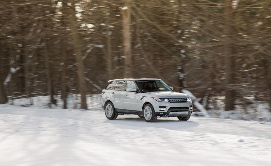 2015 Land Rover Range Rover Sport SVR (spy photo) - Slide 15