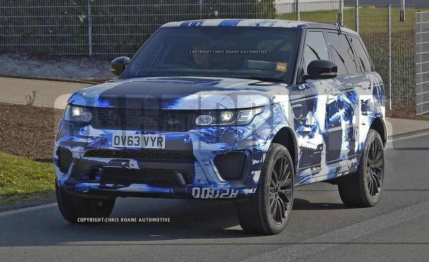 2015 Land Rover Range Rover Sport SVR (spy photo) - Slide 1